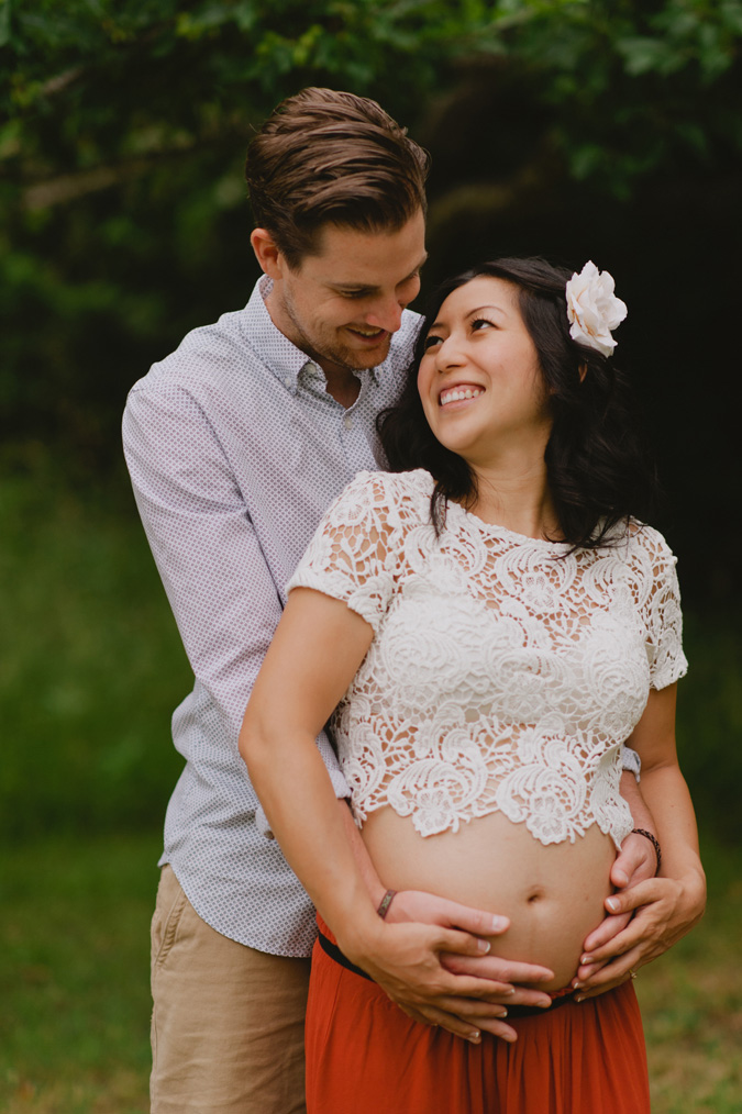 hornby island maternity photographer
