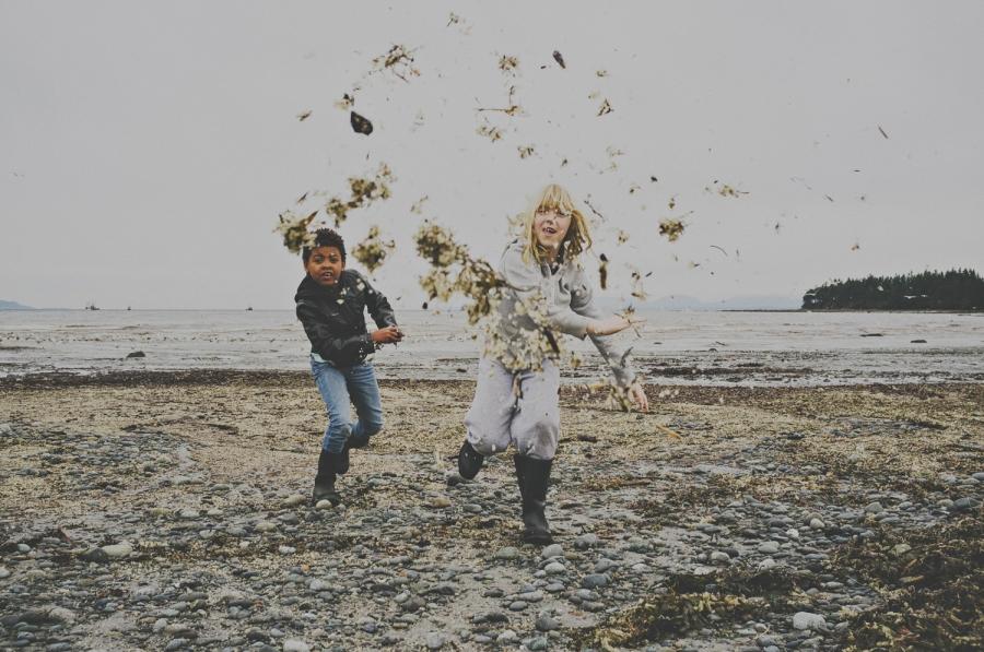 hornby island lifestyle family photographer