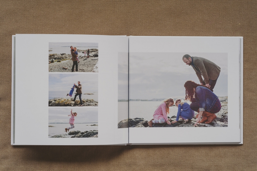 beautiful family photo book