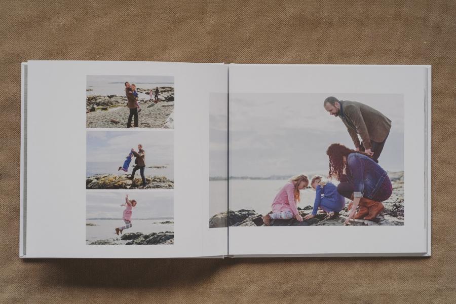 beautiful family photo book