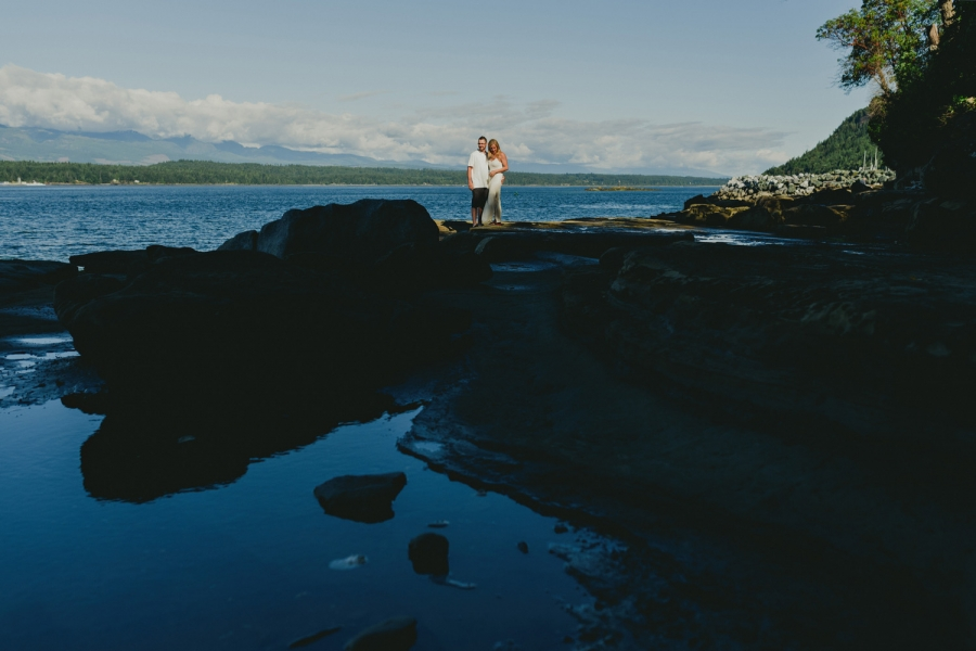 hornby island engagement photographer