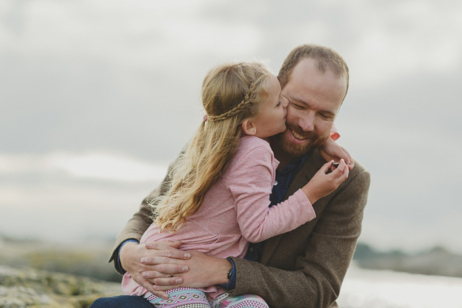 vancouver island lifestyle family session