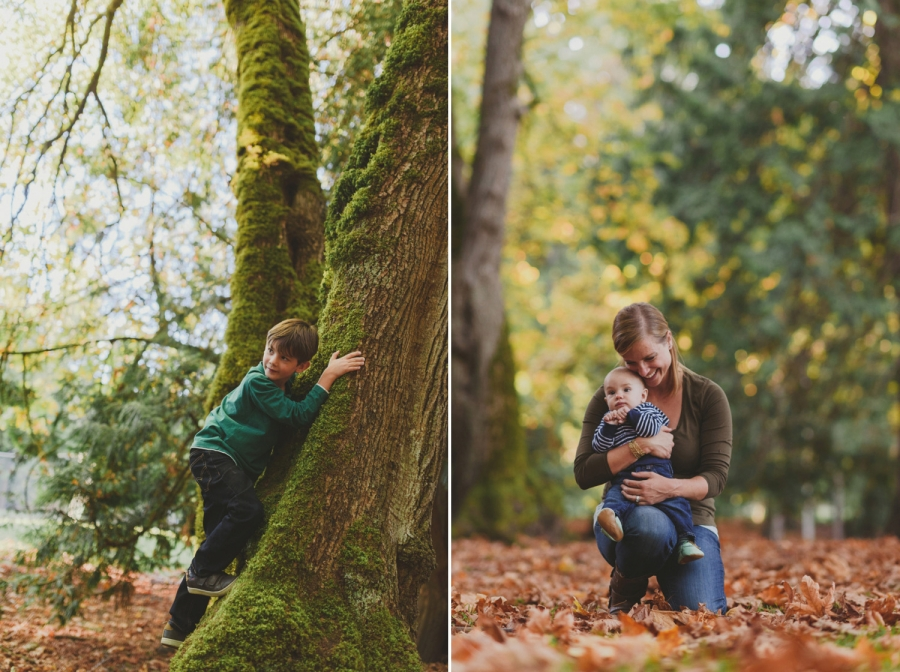 vancouver island beach side lifestyle family session