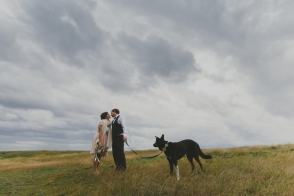 hornby island winter elopement