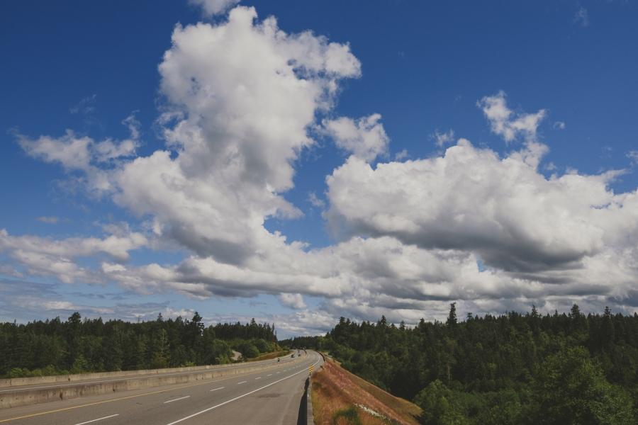 sunny highway